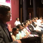 Explaing concept of JOB READY CANDIDATES to audiance